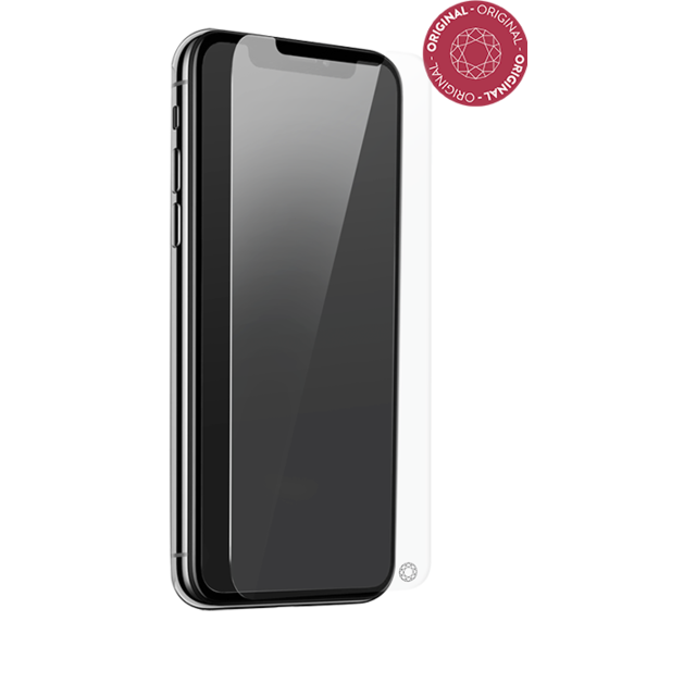 Force Glass - Verre Trempé iPhone Xr - Transparent - Protection écran smartphone