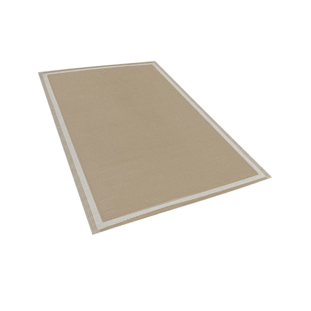 Beliani Beliani Tapis extérieur beige 120 x 180 cm ETAWAH - beige