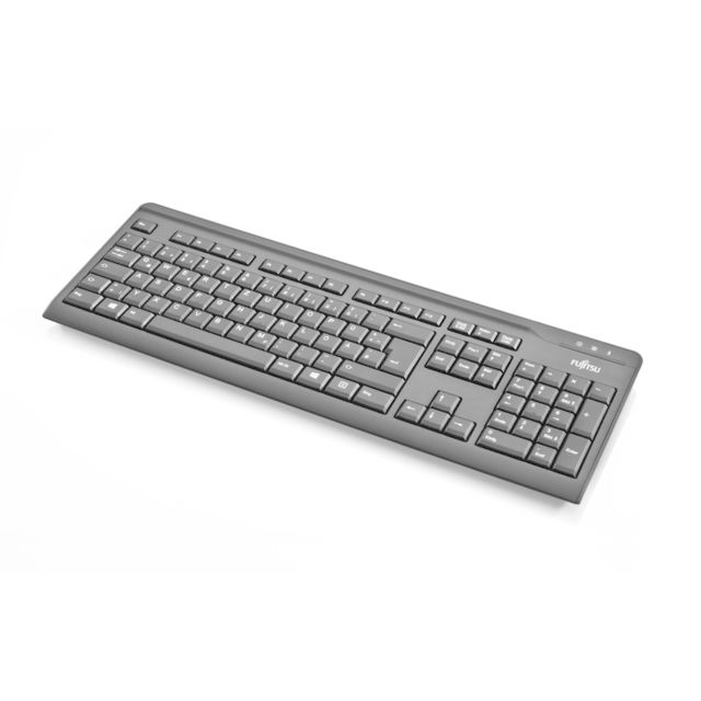 Fujitsu - Fujitsu value keyboard usb black belgian layout 1 8 m cable. (S26381-K511-L430) - Clavier Souris Fujitsu