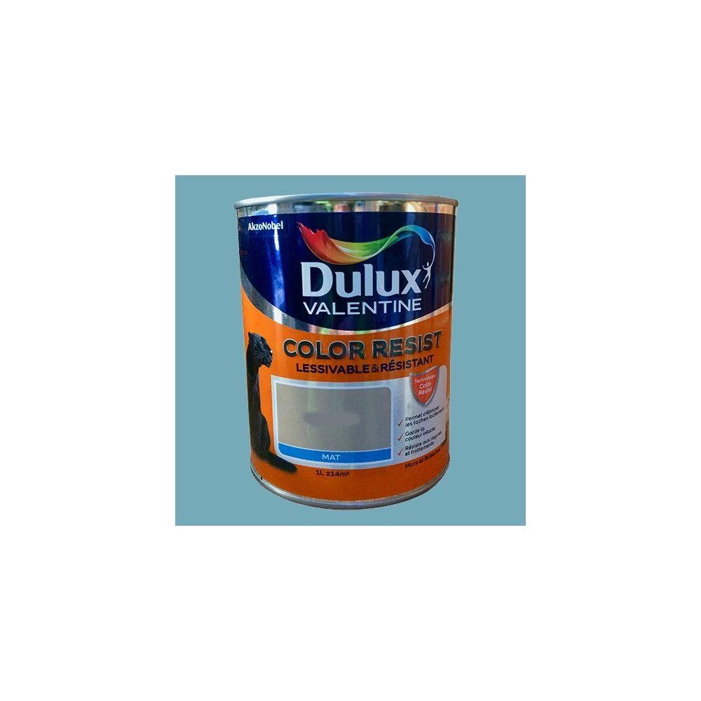 Dulux Valentine Dulux Valentine Peinture acrylique Color Resist Bleu verre Mat
