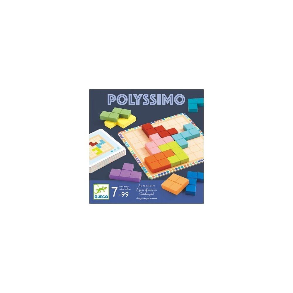 Djeco Polyssimo - Jeu de patience - Djeco 7-99 ans