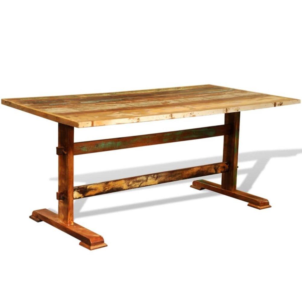 Uco UCO Table de salle à manger vintage Bois recyclé