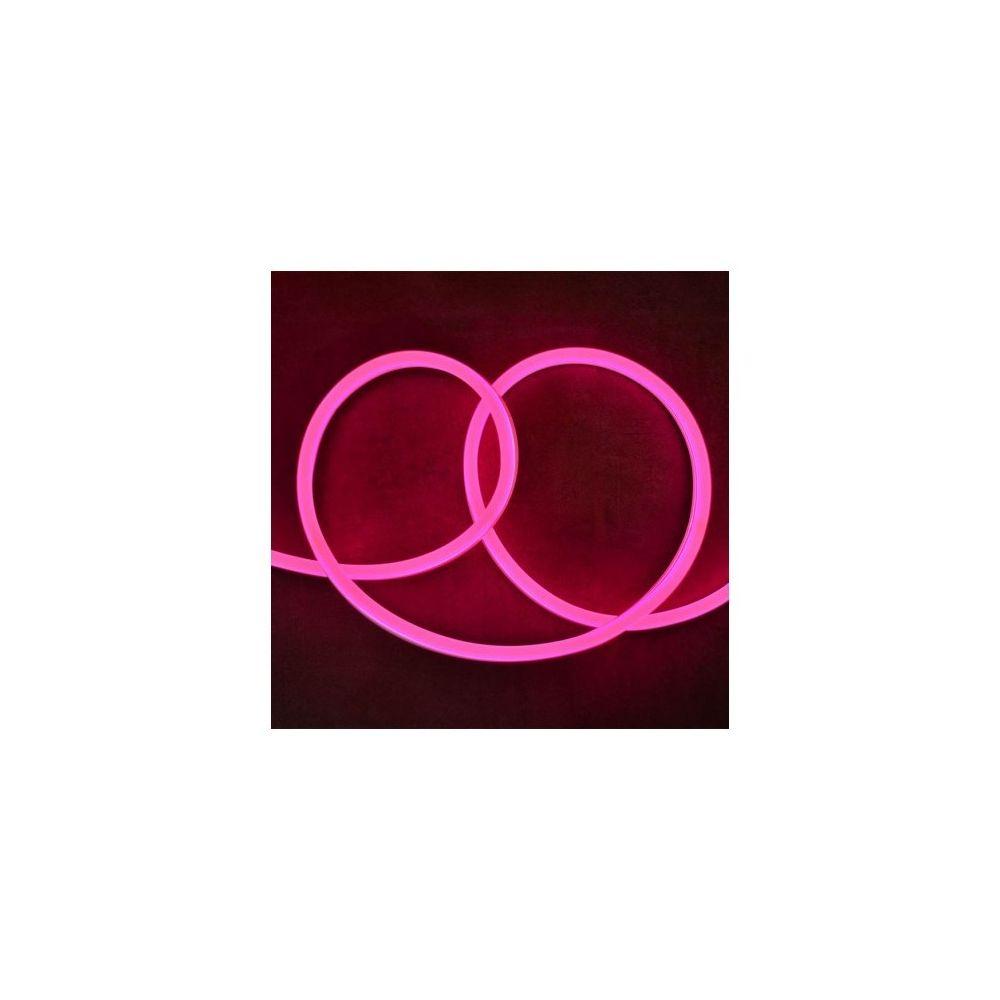 Vision-El Bobine neon flex led Rose 50 m 230V ip65 27 x 15 mm