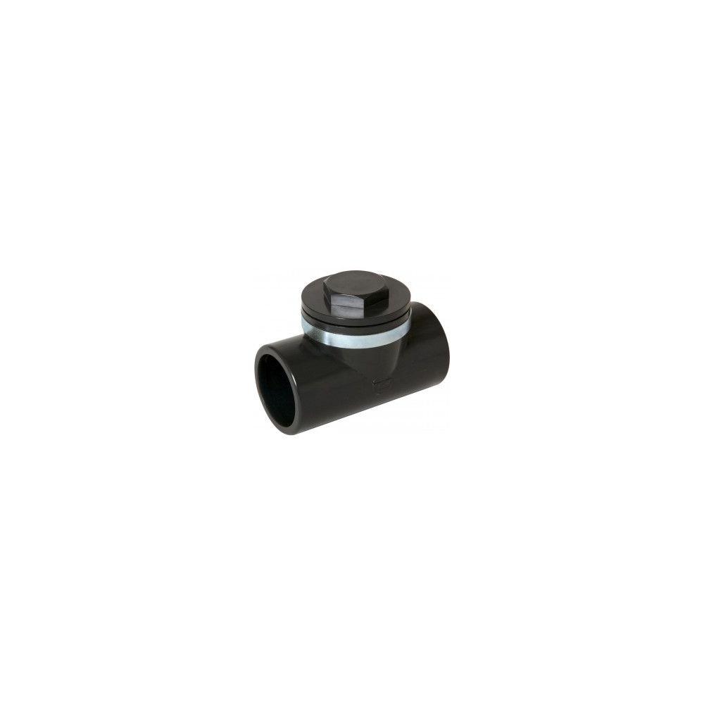 Nicoll Clapet anti-retour PVC Pression - CARJ - anthracite - Ø 50 mm