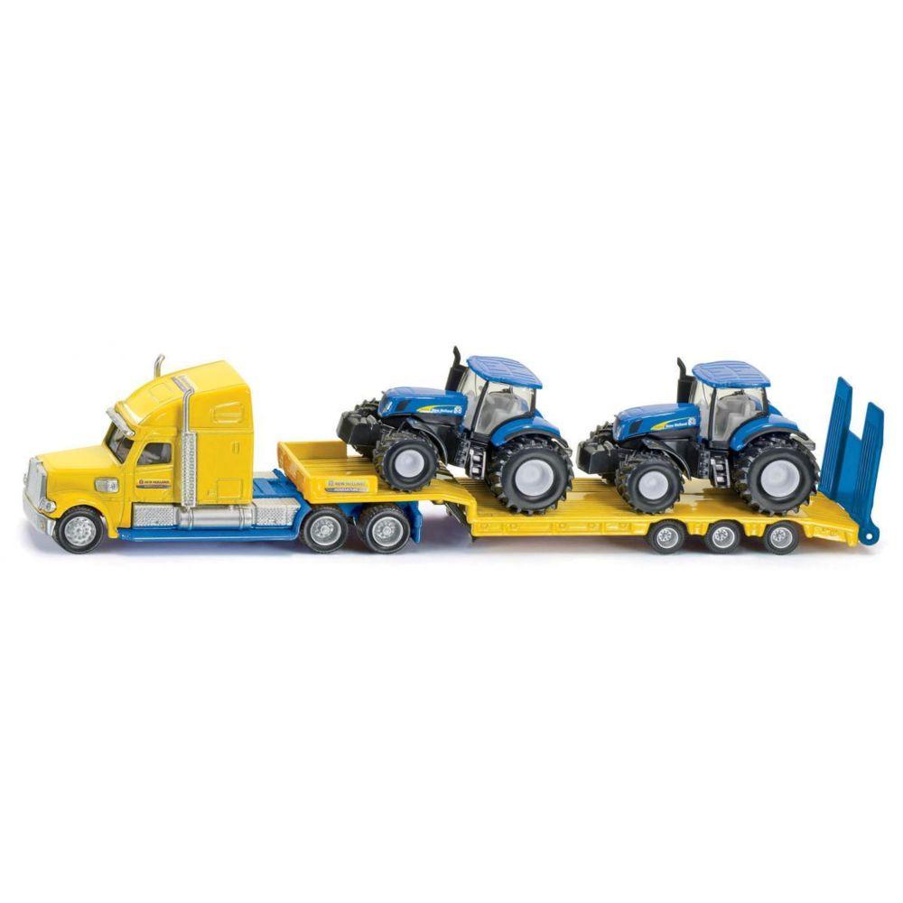 SIKU Camion avec tracteurs New Holland