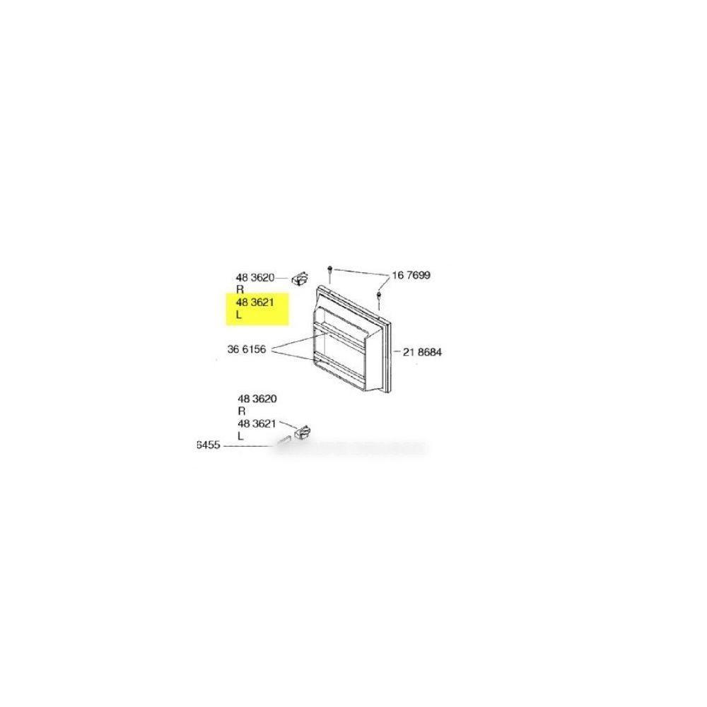 Gaggenau Chaniere de porte gauche pour réfrigérateur gaggenau