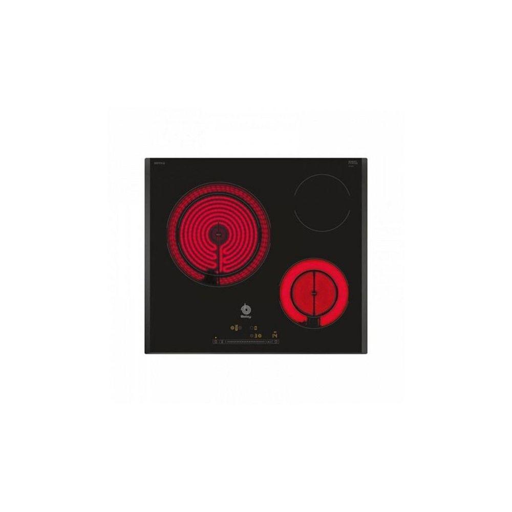 Balay Plaques vitro-céramiques Balay 3EB765LQ 60 cm Noir (3 zones de cuisson)