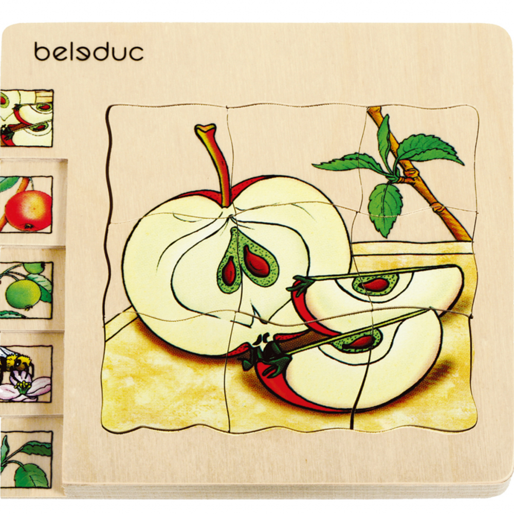 Beleduc Beleduc Puzzle pomme 17039