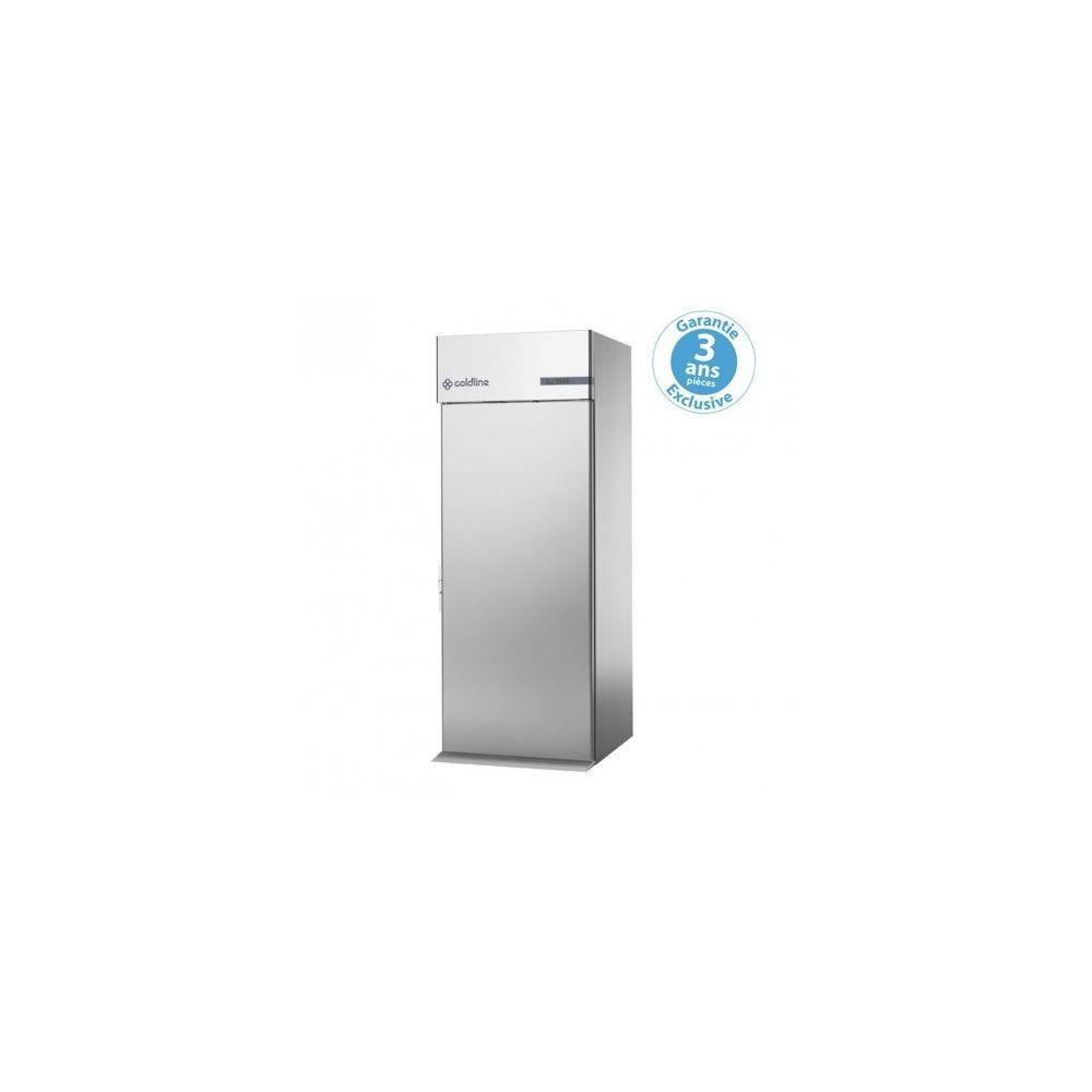Materiel Chr Pro Armoire réfrigérée à chariot positive GN 2/1 et 600 x 400 - 830 litres porte traversante - Coldline -