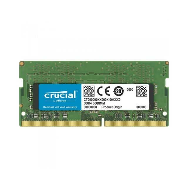 Crucial - Crucial SO-DIMM DDR4 16 Go 3200 MHz CL22 DR X8 - CT16G4SFD832A - RAM PC