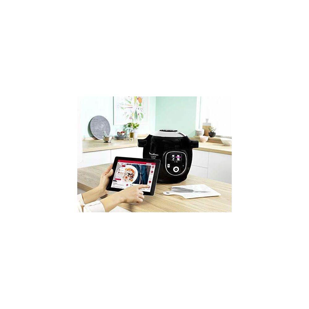 Moulinex Autocuiseur électrique Cookeo+ Connect de 6L 1200W noir gris