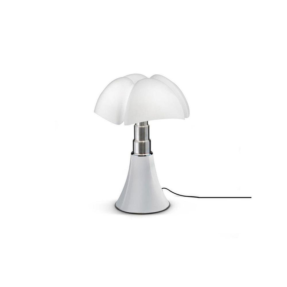 Martinelli Luce MINI PIPISTRELLO-Lampe Dimmer Touch LED H35cm Blanc Martinelli Luce - designé par Gae Aulenti