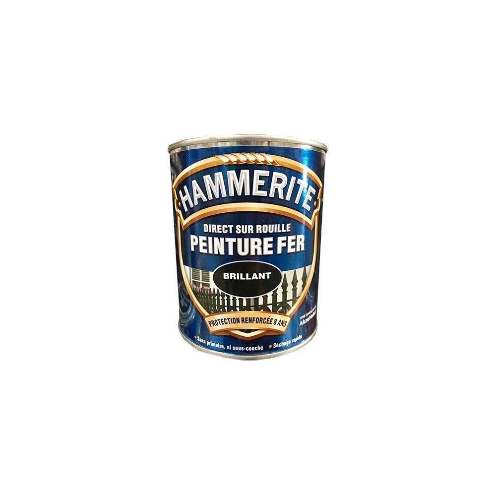Hammerite HAMMERITE Peinture Fer Direct sur Rouille Blanc Brillant