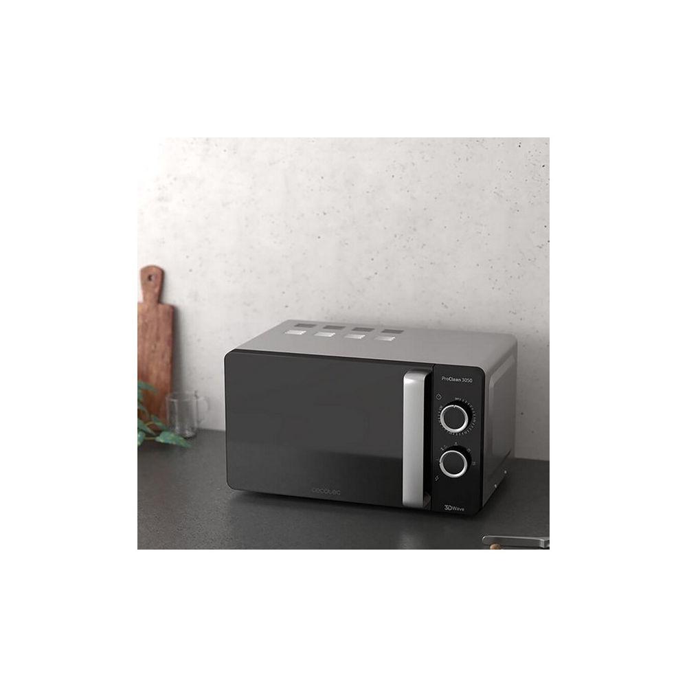 Cecotec Micro-ondes Cecotec ProClean 3050 20 L 700W Argenté Noir