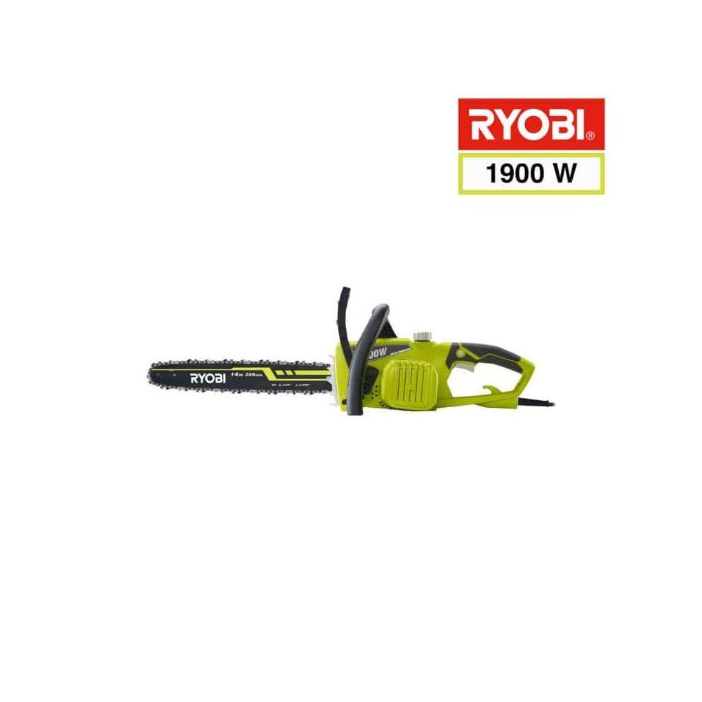 Ryobi Tronçonneuse électrique RYOBI 1900W 35cm RCS1935B2C - 2 chaines 35 cm RAC248