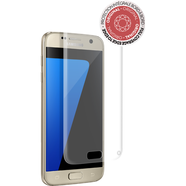 Force Glass - Verre trempé Galaxy S7 - Transparent  - Protection écran smartphone