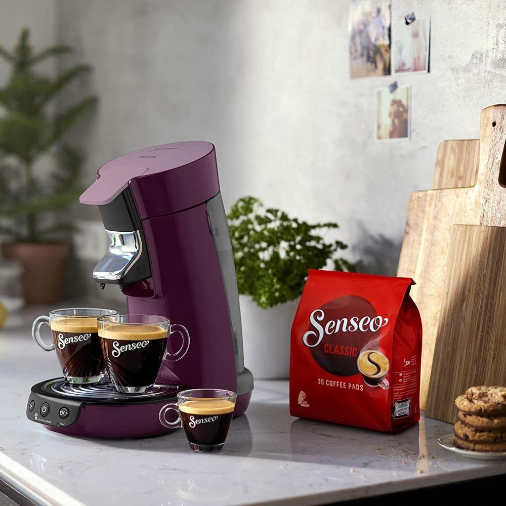 Philips Machine à café de 0,9L 1450W noir violet