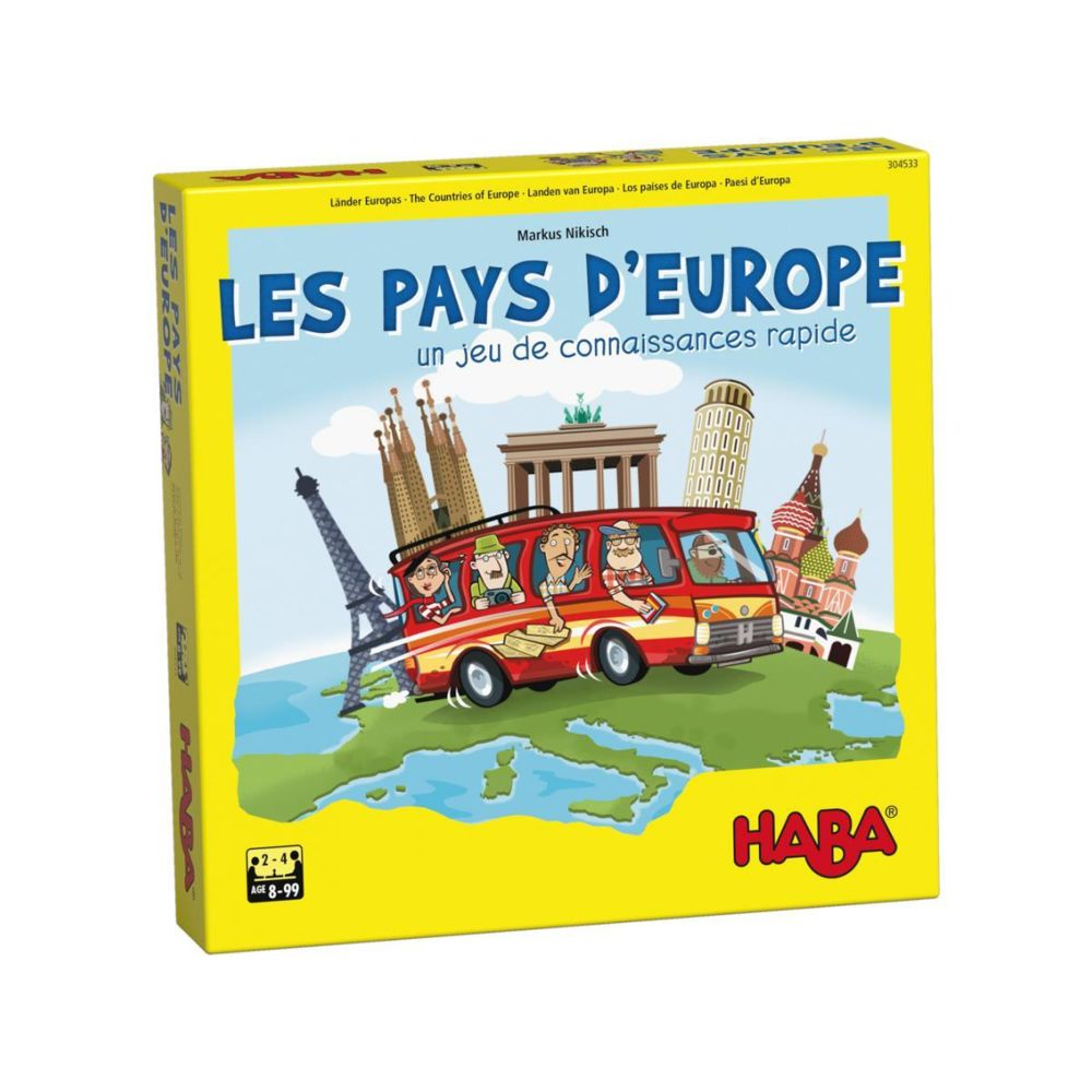 Haba Les pays d?Europe