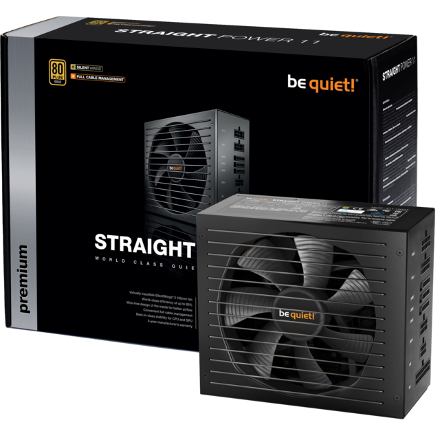 Be Quiet - Straight Power 11 450W - 80 Plus Gold - Alimentation modulaire