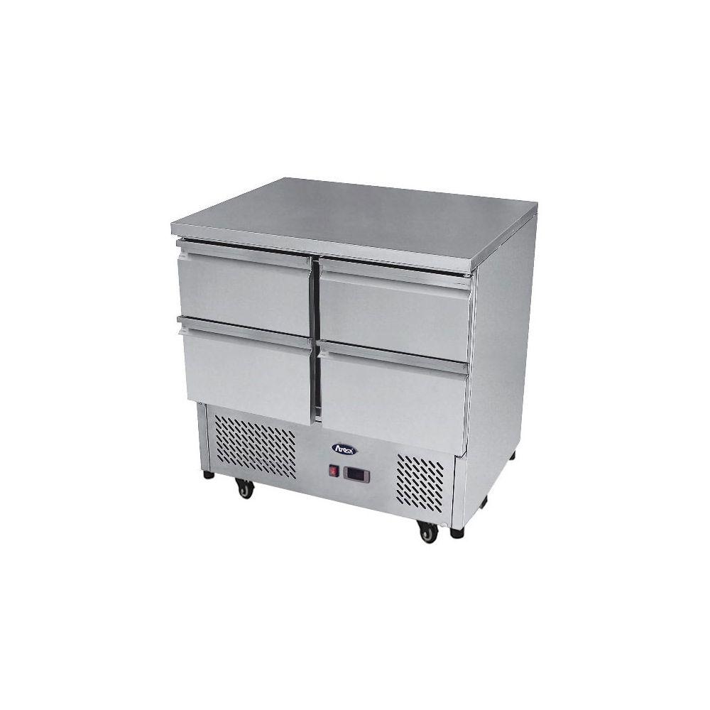 Atosa Table Refrigeree Positive 300 Litres - 4 Tiroirs - Atosa - 700