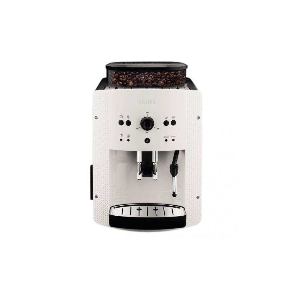 Krups Machine à café Expresso broyeur EA8105 - Blanc