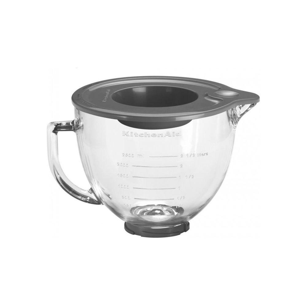 Kitchenaid Bol mélangeur en verre (4,8 l) robot socle artisan kitchenaid