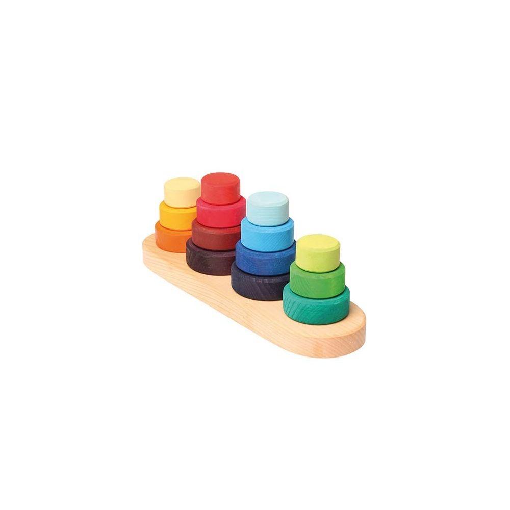 Grimms Spiel Und Holz Design Tablette à ranger - GRIMM'S