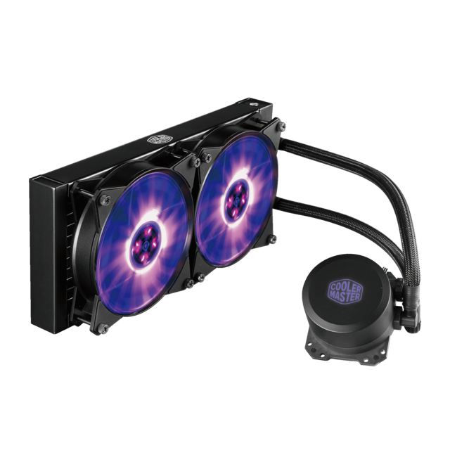 Cooler Master - MasterLiquid ML 240L RGB - Bonnes affaires Watercooling
