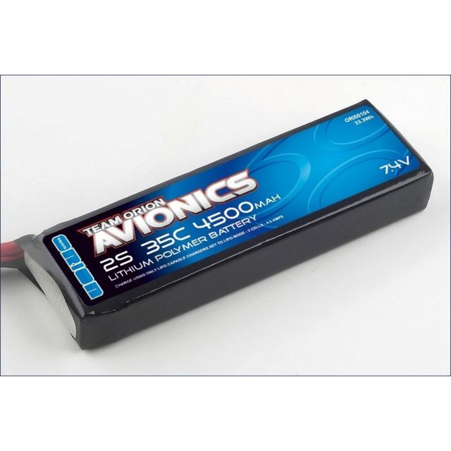 Orion - Avionics Lipo 4500Mah 7.4V 35C Orion   - Batteries et chargeurs Orion