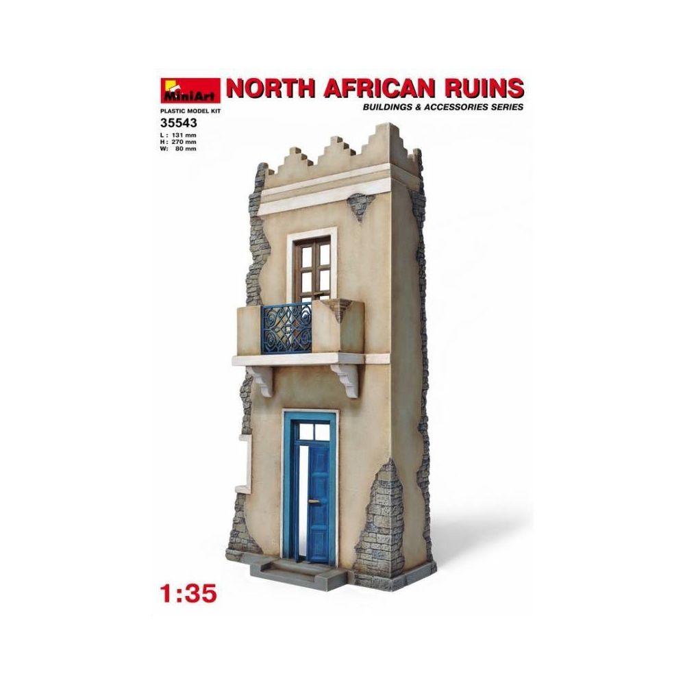 Mini Art North African Ruins - Décor Modélisme
