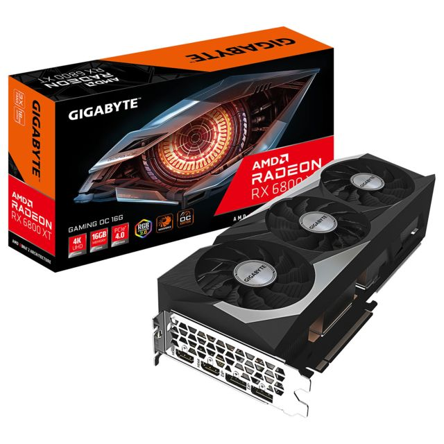 Gigabyte - Radeon RX 6800 XT - Triple Fan - 16Go - Carte Graphique AMD