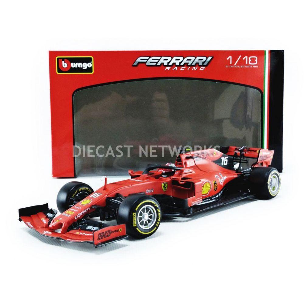 Bburago Bburago 1 18 Ferrari F1 Sf90 2019 Leclerc 16807l Modelisme Rue Du Commerce