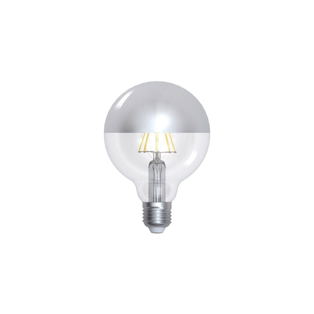Girard Sudron Globe D95 Filament LED 'Calotte Argentée' 8W E27 2700K 950Lm Dim.