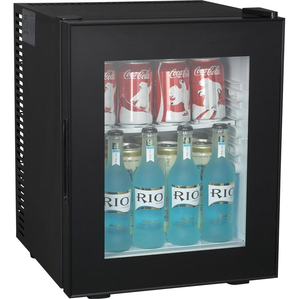Brandybest Brandy Best WINDOW280 Mini-bar vitré 26 litres Noir totalement silencieux catégorie A+