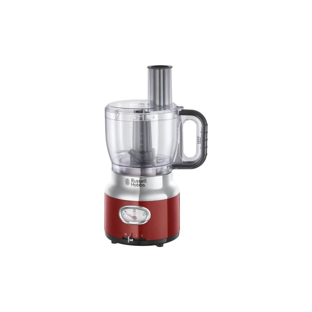 Russell Hobbs Russell Hobbs 25180-56 - Robot Multifonction Retro - 850 W - Rouge