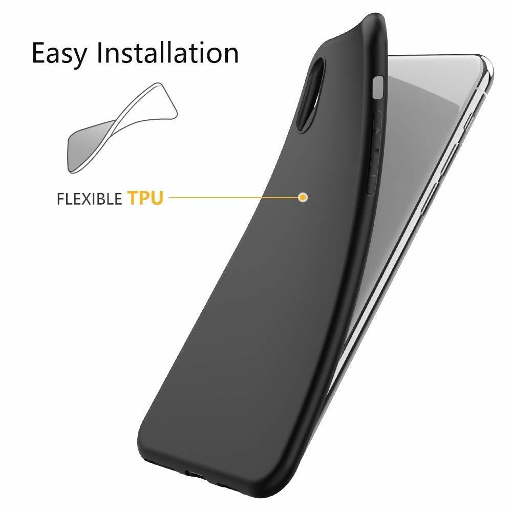 Cabling - CABLING® Coque iPhone XS, Coque iPhone X, Silicone ...