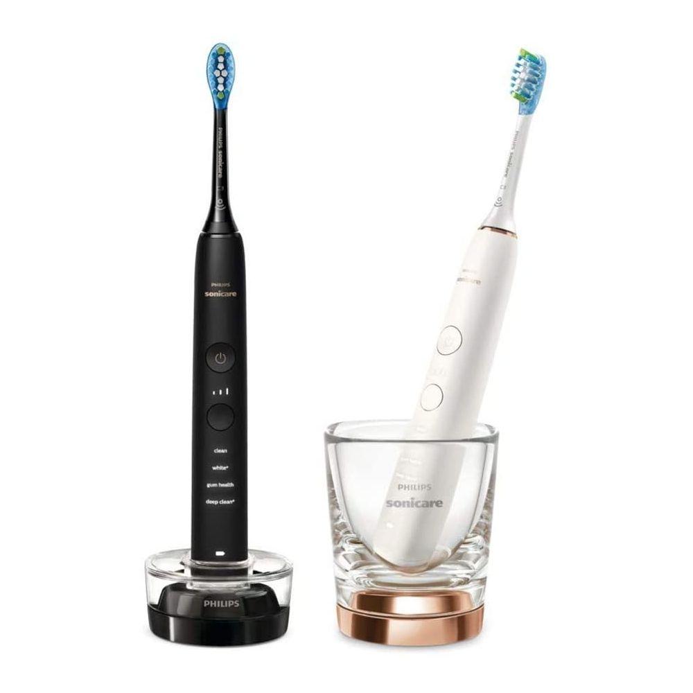 Philips pack 2 brosse à dents électrique Connectées noir blanc