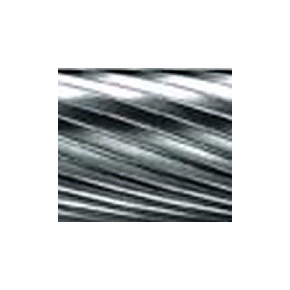 Pferd Fraise sur tige, en carbure DIN 8032, forme conique à bout rond KEL, denture 3, Forme : KEL 1225, Ø de la tête 12 mm