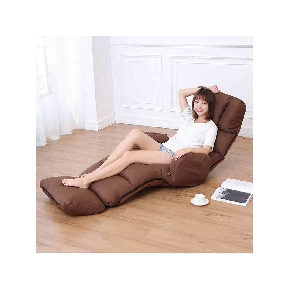 Wewoo C5 Canapé-lit paresseux Chambre Accoudoir de loisirs Inclinable Canapé simple café