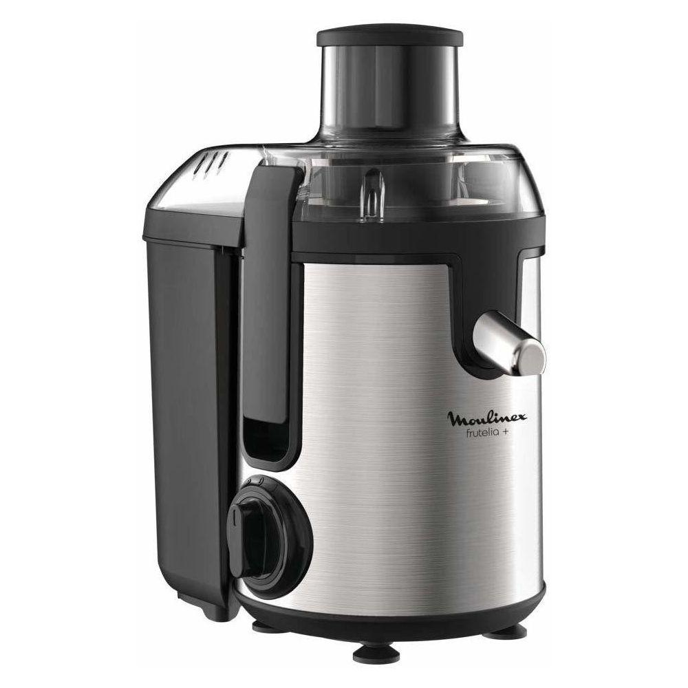 Moulinex centrifugeuse électrique pour Fruits et Légumes avec 2 vitesses 400W gris noir