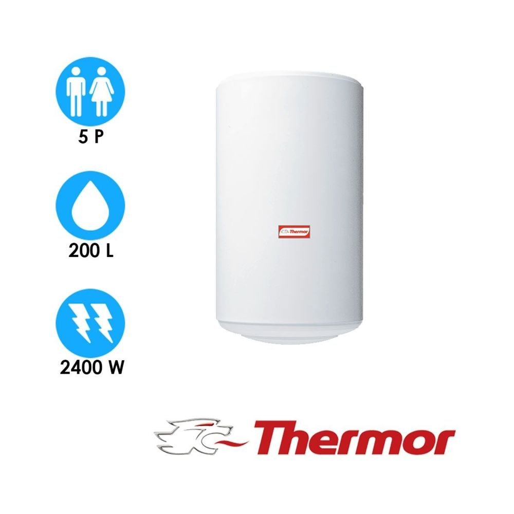 Thermor Chauffe eau stéatis - 200l - vertical mural - thermor