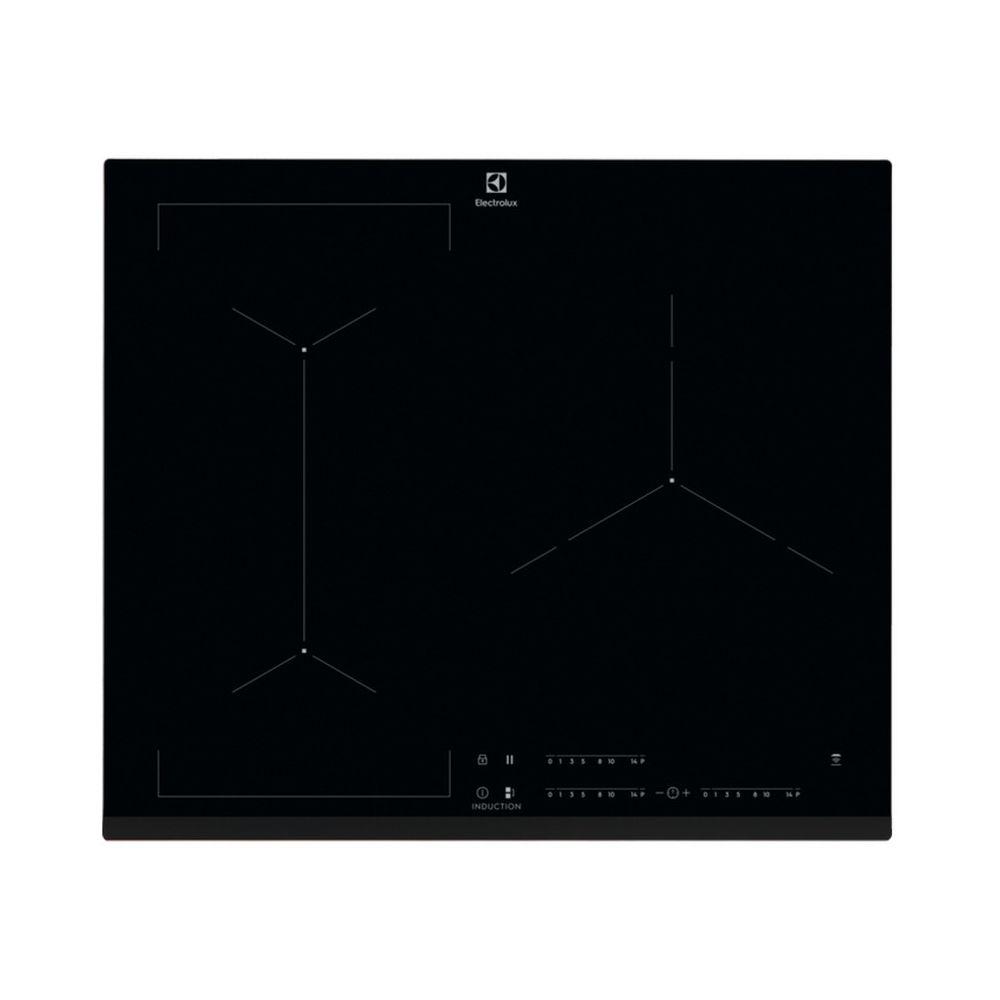 Electrolux electrolux - table de cuisson à induction 59cm 3 feux 7200w flexinduction noir - eiv63343