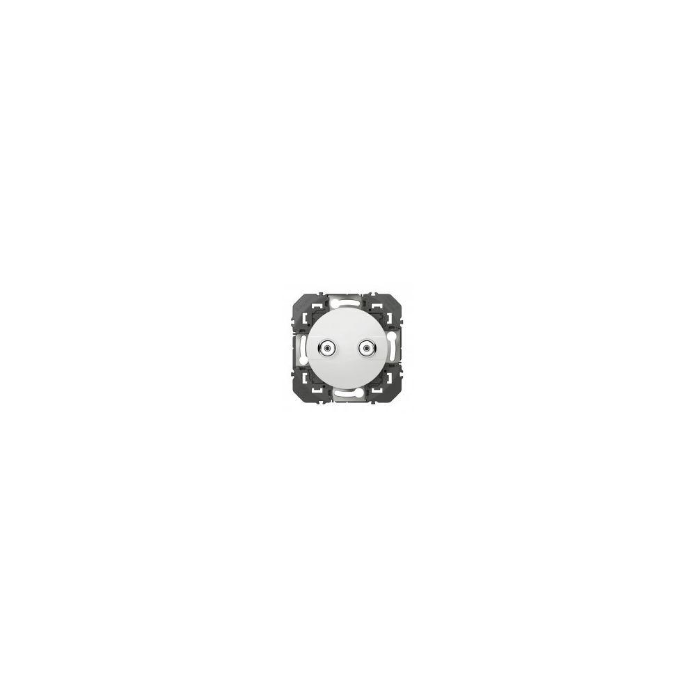 Legrand Prise réseau câblé AFORM type F Dooxie - Blanc - 600357 - Legrand