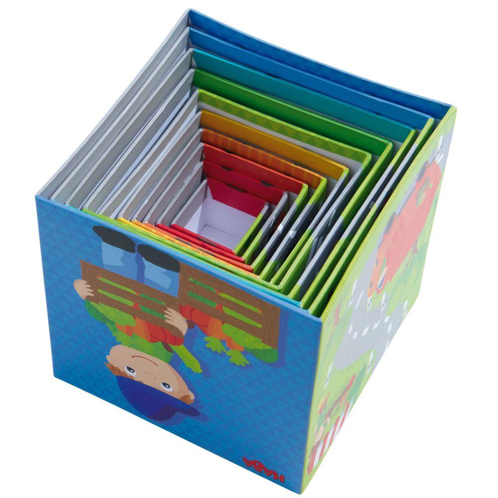 Haba Cubes à empiler : Petits Bolides