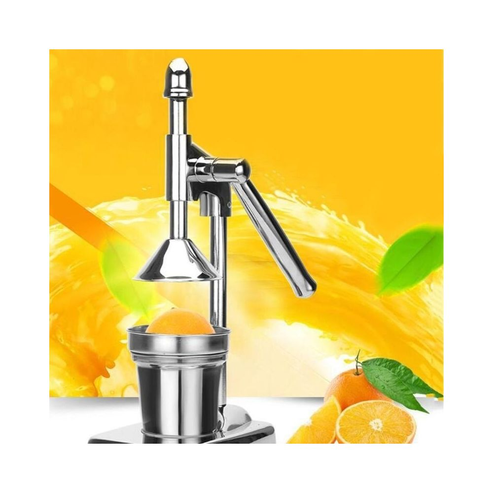 Wewoo Presse-agrumes en acier inoxydable Fruits Presse-fruits Orange Citron manuel Pas de mise sourdine Cuisine Outil cuisson