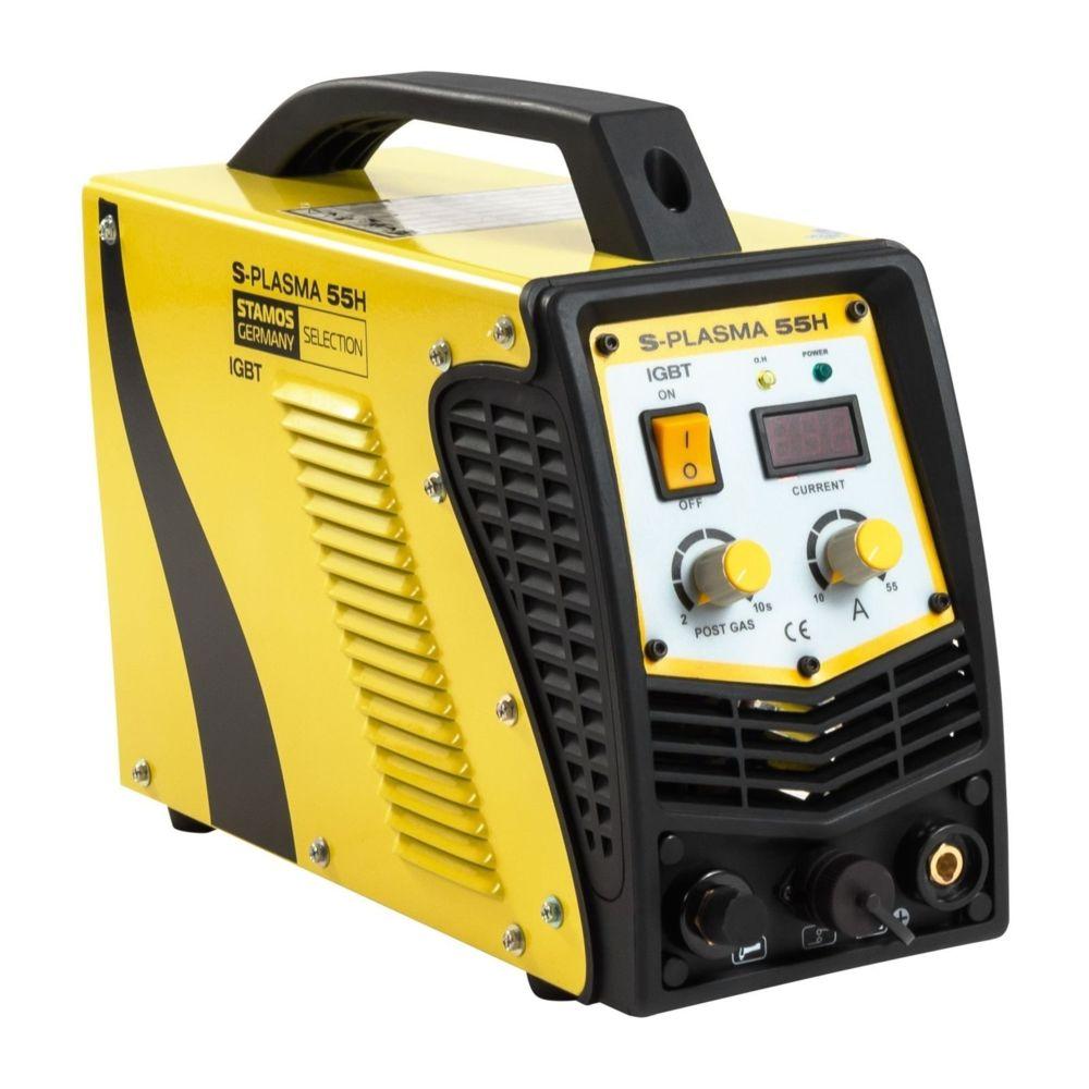 Helloshop26 Découpeur plasma - 55A - 230V professionnel 3414018