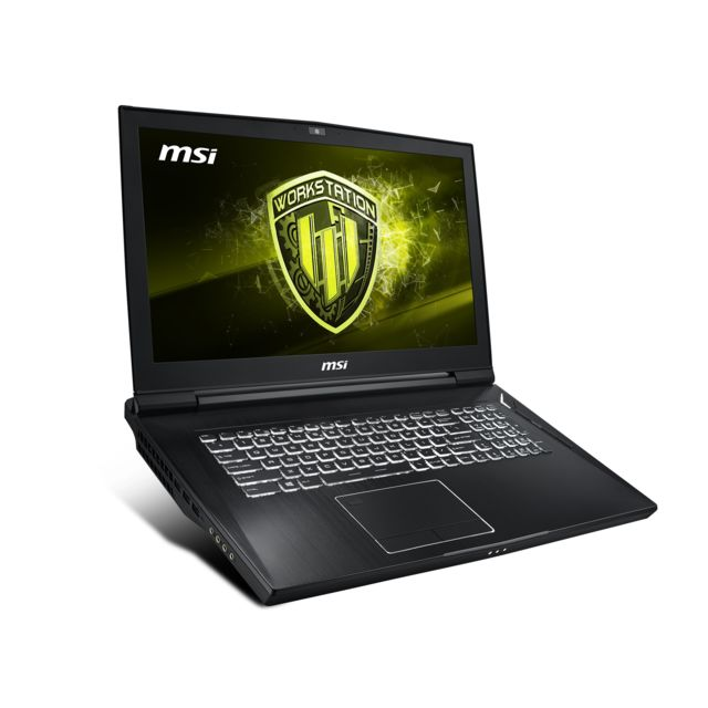 Msi - Workstation WT75-9SL-076FR - Noir Msi   - PC Portable