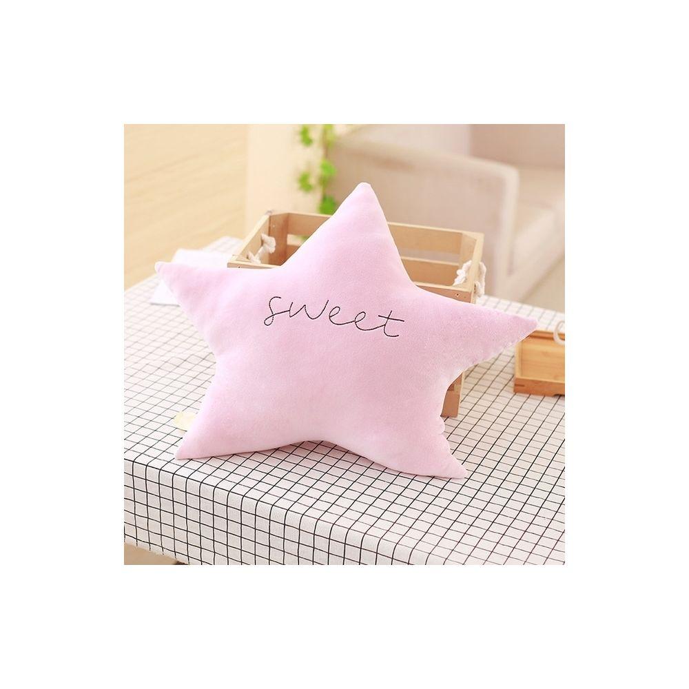Wewoo Poupée Peluche lune mignonne série ciel, étoiles nuages bowknot bébé jouets doux coussin joli dormir oreiller cadeaux dé