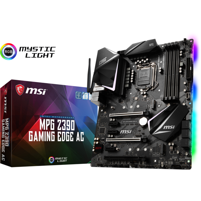 Msi - Intel Z390 MPG GAMING EDGE AC - ATX - Composants
