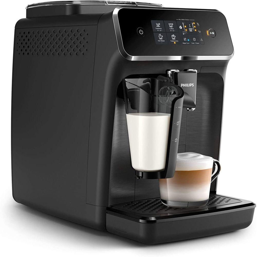 Philips Machine à café entièrement automatique de 1,8L 1500W noir gris